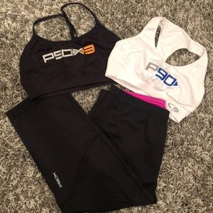 BEACHBODY P90 Bundle - 1 Legging + 2 Sports Bras